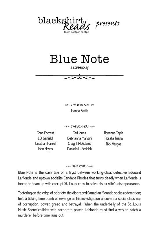 Blue Note playbill for web site