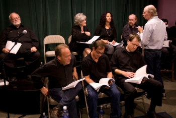 The reading of Emanuels and Katherine's play (Photography by Linda McConnell June 1, 2014)
